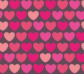 Heart background vector — Stock Vector