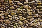 Kiesel pflaster closeup für hintergrund — Stockfoto