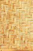 Palm leaves straws background — Stock Photo