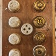 Stock Photo: Old switches