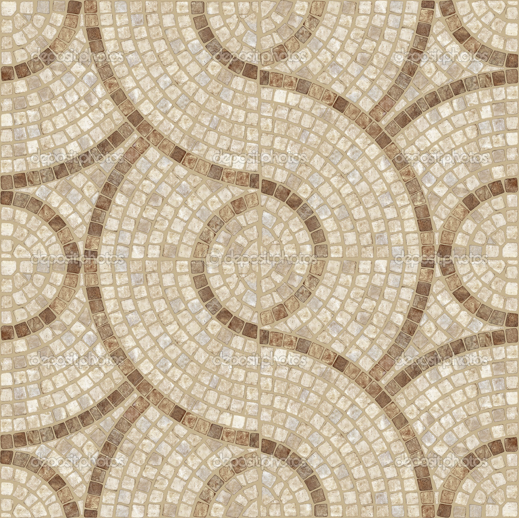 Marble stone Mosaic Texture Highres Stock Photo