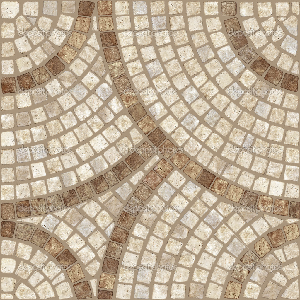 Marble Stone Mosaic Texture High Res Stock Photo