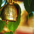 Buddhist bell — Stock Photo