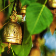 Stock Photo: Buddhist wishing bell
