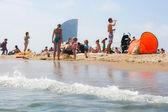 City beach — Stock Photo