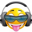 Emoticon DJ — Stock Photo #11942607