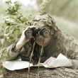 Military Camouflaged man — Stock Photo #10790814