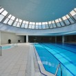 Indoor swimming pool - Zdjęcie stockowe
