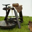 Potters wheel - Stock Photo