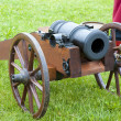 Antique field-gun — Stock Photo