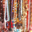 Colorful beads collection - Stock Photo