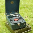 Russian Soviet Red army gramophone — Stock Photo