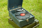 Russian Soviet Red army gramophone — Stock Photo