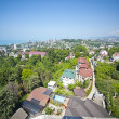 Top view of Sochi city — Stock Photo