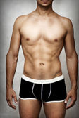 Male sexy underwear model — Stock Photo