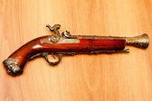 Ancient pistol — Stock Photo