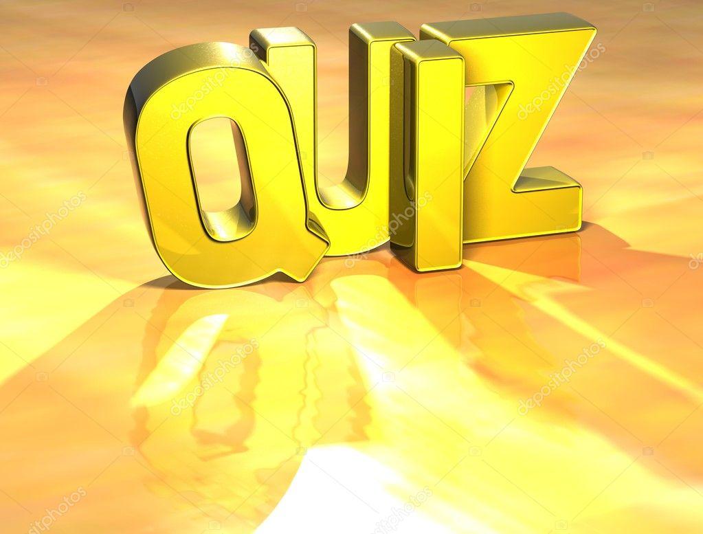 word quiz