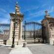 Palacio Real in Madrid, Spain - Stock Photo