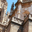Statue of the Cathedral of Toledo, Spain — Stock Photo