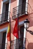 фасад дома в толедо, испания — Стоковое фото