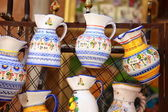 Traditional Pottery in Toledo, Spain — Stockfoto
