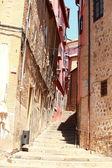 španělsko. pohled na středověké město toledo. — Stock fotografie