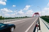 Road on bridge — Stock Photo