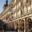 Plaza Mayor in Madrid - Stok fotoğraf