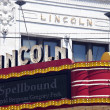 Lions Lincoln Theatre — Stock Photo