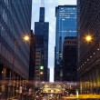 Stock Photo: Adams Street and Willis Tower