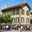 Lincoln Home National Historic Site in Springfield — Stock Photo