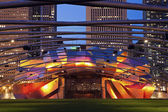 Jay Pritzker Pavilion in Millenium Park — Stock Photo