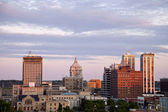 Peoria skyline — Stock Photo