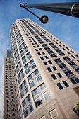 Современные здания в центре Бостона — Стоковое фото