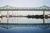 Tobin Memorial Bridge — Stock Photo