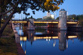 Bridge on Milwaukee River — Foto Stock
