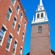 Stock Photo: Old architecture of Boston