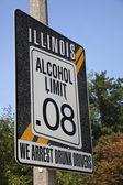 Illinois alkoholu spółka z ograniczoną odpowiedzialnością — Zdjęcie stockowe