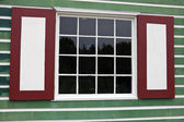 Colorful Window Shutters — Stock Photo