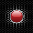 Royalty-Free Stock Vector Image: Red Button