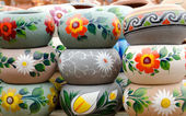 Mexican ceramic pots — Stock Photo