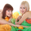 Two sexy women with fruits — Stock Photo #11791100