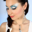 Stock fotografie: Portrait of beautiful woman with make-up