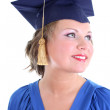 Royalty-Free Stock Photo: Woman in graduation cap