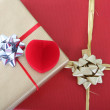 Gift boxes and ring box — Stock Photo #11792602