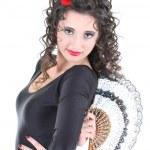 Portrait of spanish dancer — Stock Photo #11793176