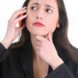 Business woman on the phone — Stock Photo #11840204