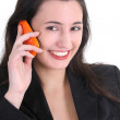 Stock Photo: Business woman on the phone