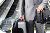 Travelling Businessman — Stock Photo