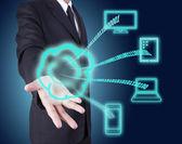 Cloud computing technology — Stock Photo